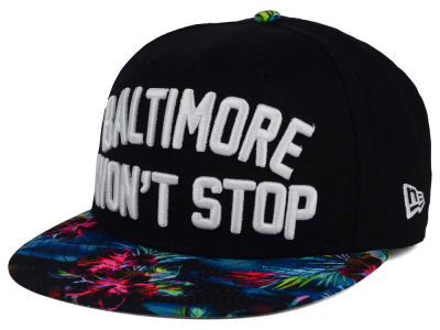 New Era Won't Stop 9FIFTY Snapback Cap