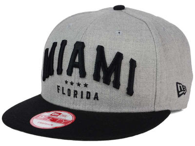 Miami Heather Arch 9FIFTY Snapback Cap