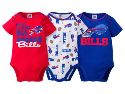 Buffalo Bills NFL Infant 3 Piece Creeper Set
