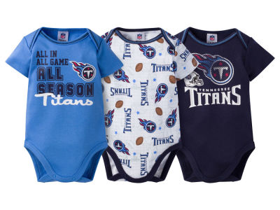 Tennessee Titans NFL Infant 3 Piece Creeper Set