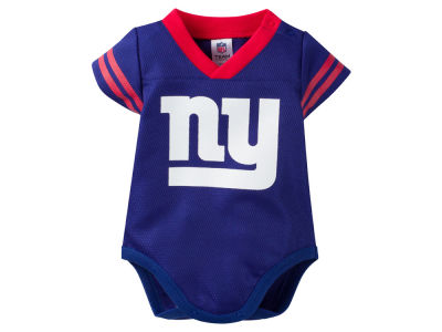 New York Giants NFL Newborn Dazzle Mesh Creeper