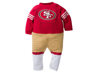 San Francisco 49ers NFL Newborn Footysuit