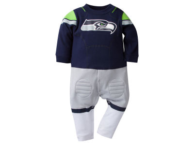Seattle Seahawks NFL Newborn Footysuit
