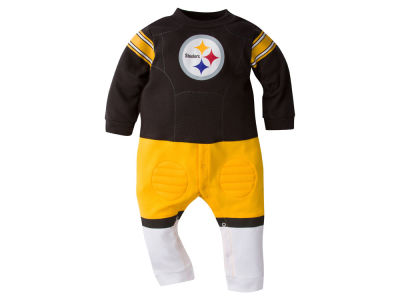 Pittsburgh Steelers NFL Newborn Footysuit