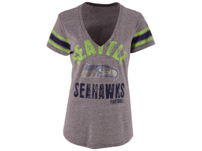 Seattle Seahawks GIII NFL Women's Any Sunday Rhinestone T-Shirt