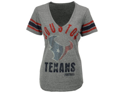 Houston Texans GIII NFL Women's Any Sunday Rhinestone T-Shirt