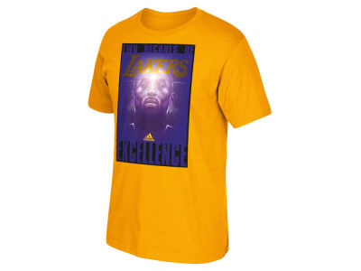 Los Angeles Lakers Kobe Bryant adidas NBA Men's Greatest Hits T-Shirt
