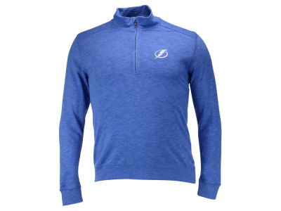 Tampa Bay Lightning NHL Men's Hudson Shear Text Quarter Zip Pullover