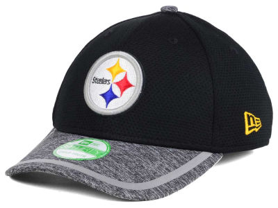 Pittsburgh Steelers New Era 2016 NFL Kids Training Camp 39THIRTY Cap