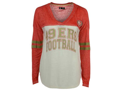 San Francisco 49ers G-III Sports NFL Women's Field Position Long Sleeve T-Shirt