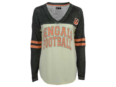 Cincinnati Bengals GIII NFL Women's Field Position Long Sleeve T-Shirt