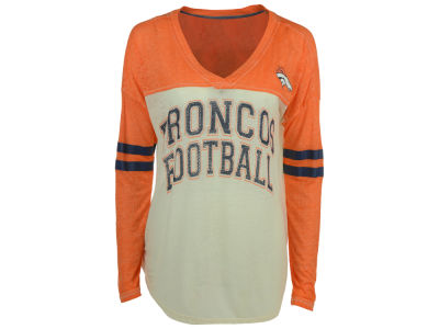 Denver Broncos GIII NFL Women's Field Position Long Sleeve T-Shirt
