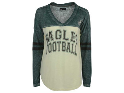 Philadelphia Eagles GIII NFL Women's Field Position Long Sleeve T-Shirt