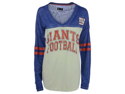 New York Giants GIII NFL Women's Field Position Long Sleeve T-Shirt