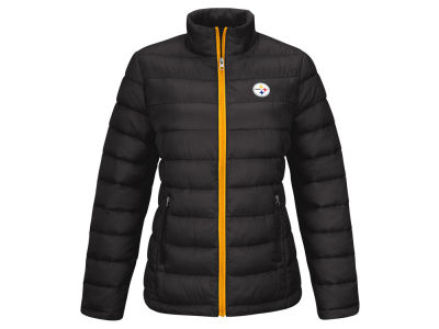 Pittsburgh Steelers GIII NFL Women's Fair Catch Packable Jacket