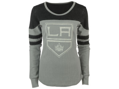 Los Angeles Kings G-III Sports NHL Women's Hat Trick Thermal Long Sleeve T-Shirt