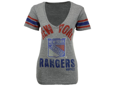 New York Rangers GIII NHL Women's Any Sunday T-Shirt