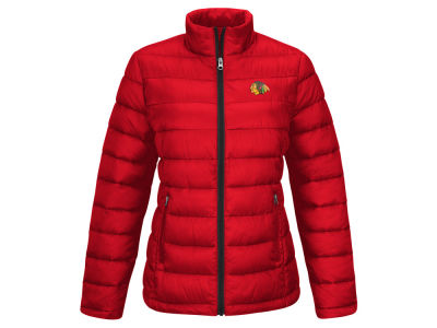 Chicago Blackhawks GIII NHL Women's Fair Catch Jacket