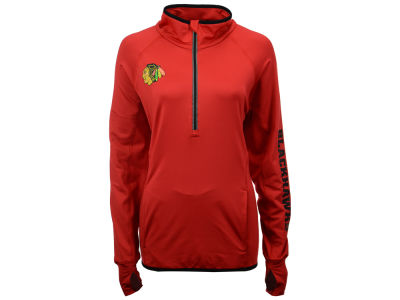 Chicago Blackhawks G-III Sports NHL Women's Interval 1/2 Zip Pullover