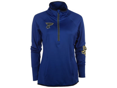 St. Louis Blues GIII NHL Women's Interval 1/2 Zip Pullover