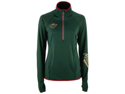 Minnesota Wild G-III Sports NHL Women's Interval 1/2 Zip Pullover