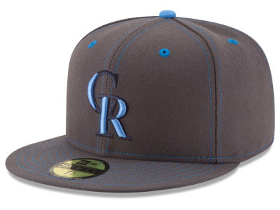 Colorado Rockies New Era 2016 MLB Fathers Day 59FIFTY Cap
