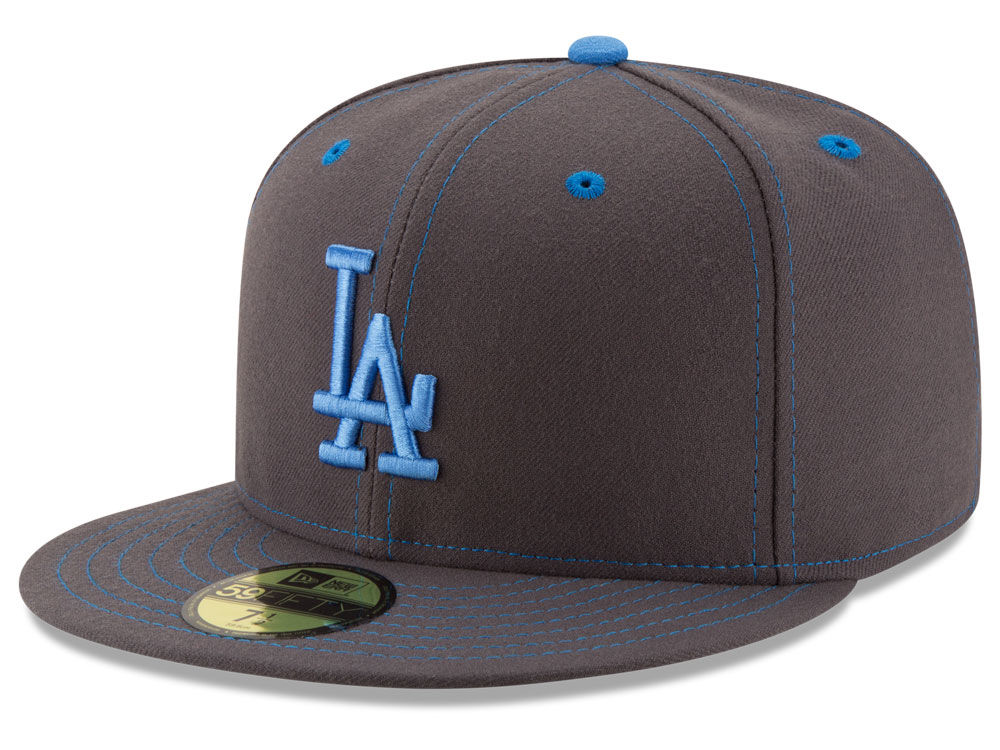 Los Angeles Dodgers New Era 2016 MLB Fathers Day 59FIFTY Cap  905381842dfe