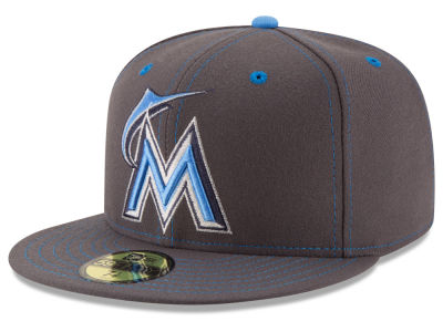 Miami Marlins New Era 2016 MLB Fathers Day 59FIFTY Cap