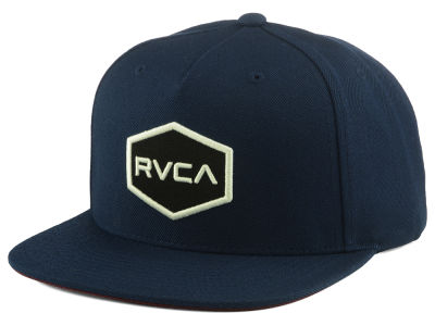 RVCA Commonwealth F16 Snapback Hat