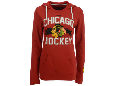 Chicago Blackhawks Reebok NHL Women's Banner Arch Hooded Sweatshirt