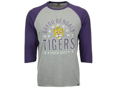 LSU Tigers '47 NCAA Men's Lockdown Raglan Shirt