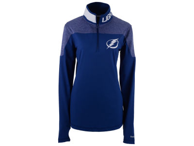 Tampa Bay Lightning Reebok NHL Women's Performance Quarter Zip Pullover