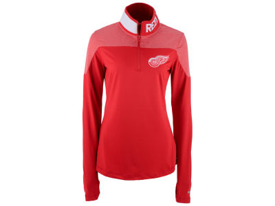 Detroit Red Wings Reebok NHL Women's Performance Quarter Zip Pullover