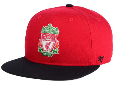 Liverpool FC '47 English Premier League Sure Shot '47 CAPTAIN Snapback Cap