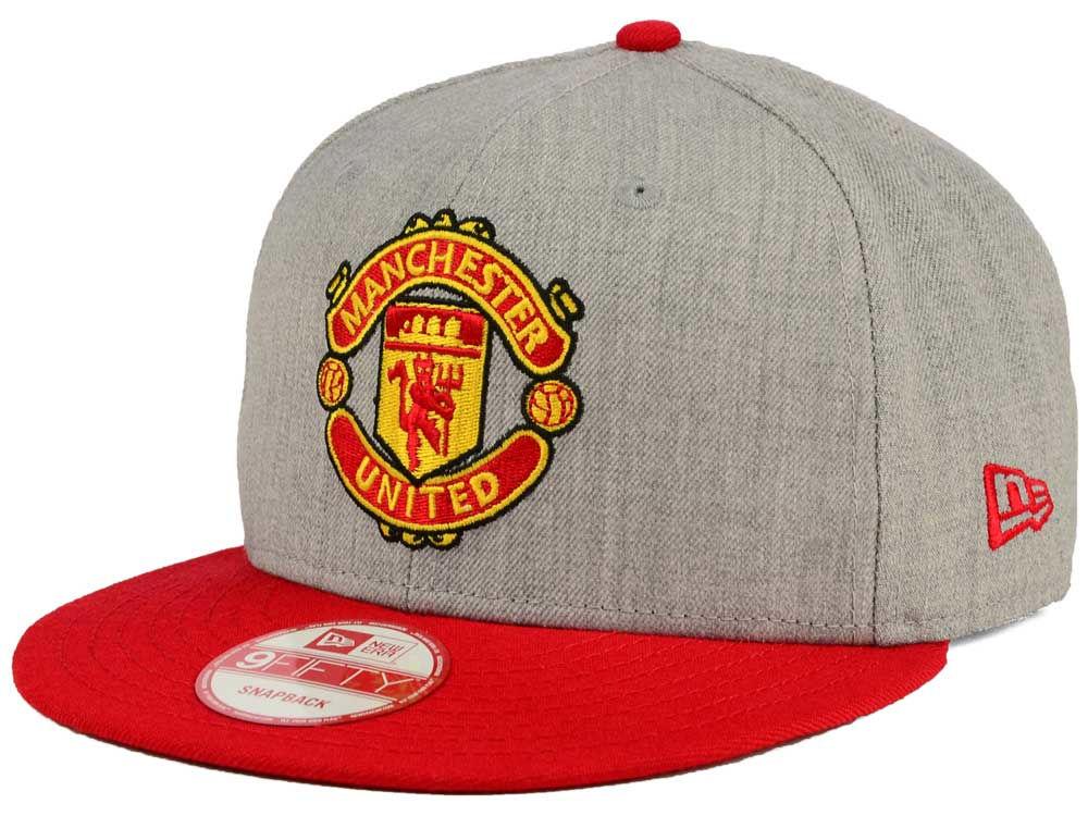 Manchester United New Era English Premier League Heather 2Tone 9FIFTY Snapback  Cap  e3512f02ff12