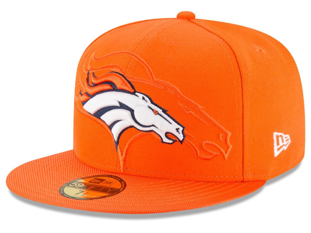 Denver Broncos New Era 2016 Official NFL Sideline 59FIFTY Cap  acde49cebe2a