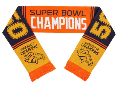 Denver Broncos Event Acylic Wordmark Scarf