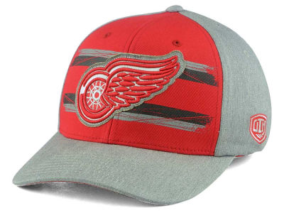 Detroit Red Wings Old Time Hockey NHL Silverscreen Flex Cap