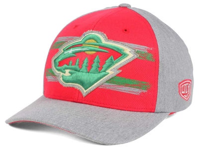 Minnesota Wild Old Time Hockey NHL Silverscreen Flex Cap