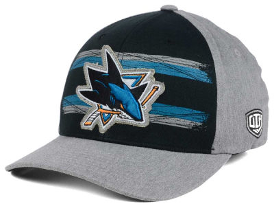 San Jose Sharks Old Time Hockey NHL Silverscreen Flex Cap