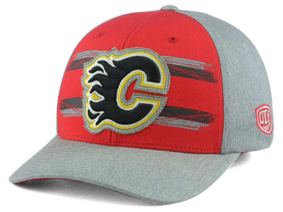 Calgary Flames Old Time Hockey NHL Roader Mesh Cap