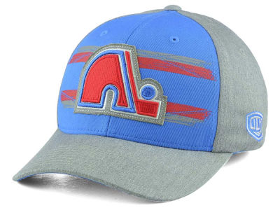 Quebec Nordiques Old Time Hockey NHL Silverscreen Flex Cap