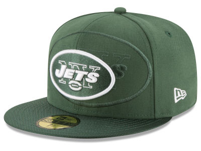 New York Jets New Era 2016 Official NFL Sideline 59FIFTY Cap