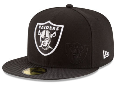 Oakland Raiders New Era 2016 Official NFL Sideline 59FIFTY Cap