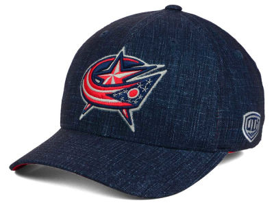 Columbus Blue Jackets Old Time Hockey NHL Screener Flex Cap