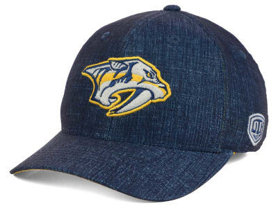 Nashville Predators Old Time Hockey NHL Screener Flex Cap