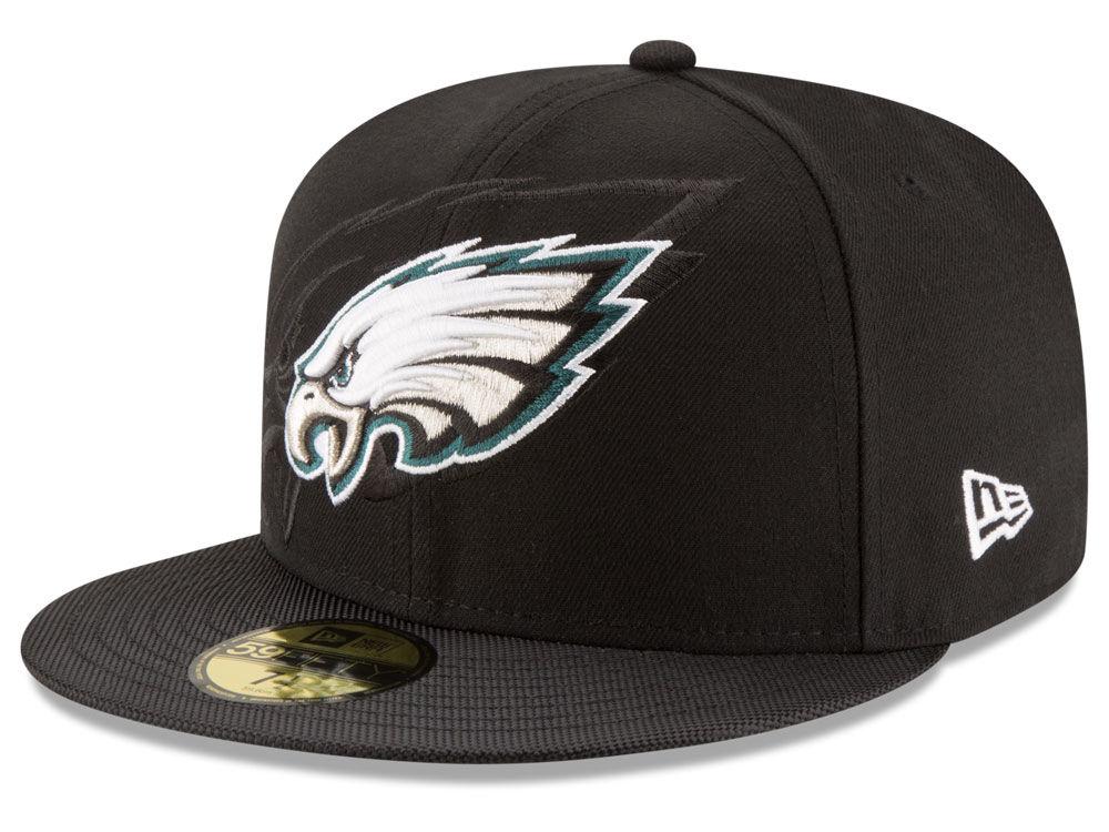 Philadelphia Eagles New Era 2016 Official NFL Sideline 59FIFTY Cap ... 721265de4b8