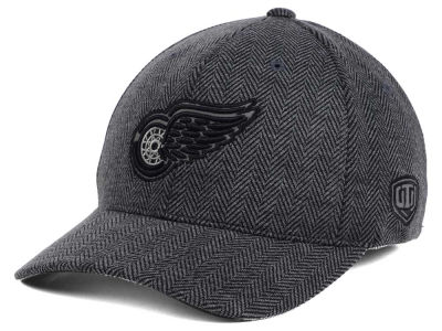 Detroit Red Wings Old Time Hockey NHL Jagged Flex Cap