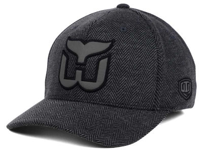 Hartford Whalers Old Time Hockey NHL Jagged Flex Cap