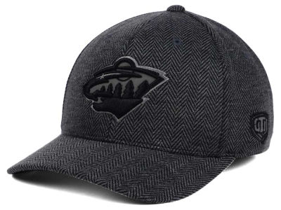 Minnesota Wild Old Time Hockey NHL Jagged Flex Cap